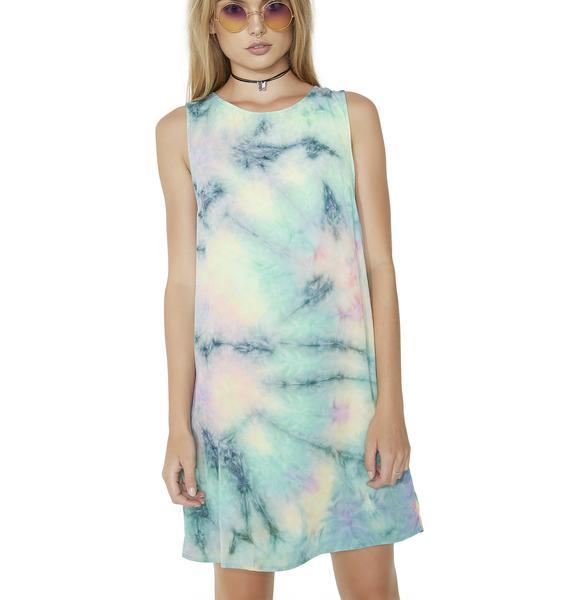 Feelin' Groovy Tie-Dye Dress