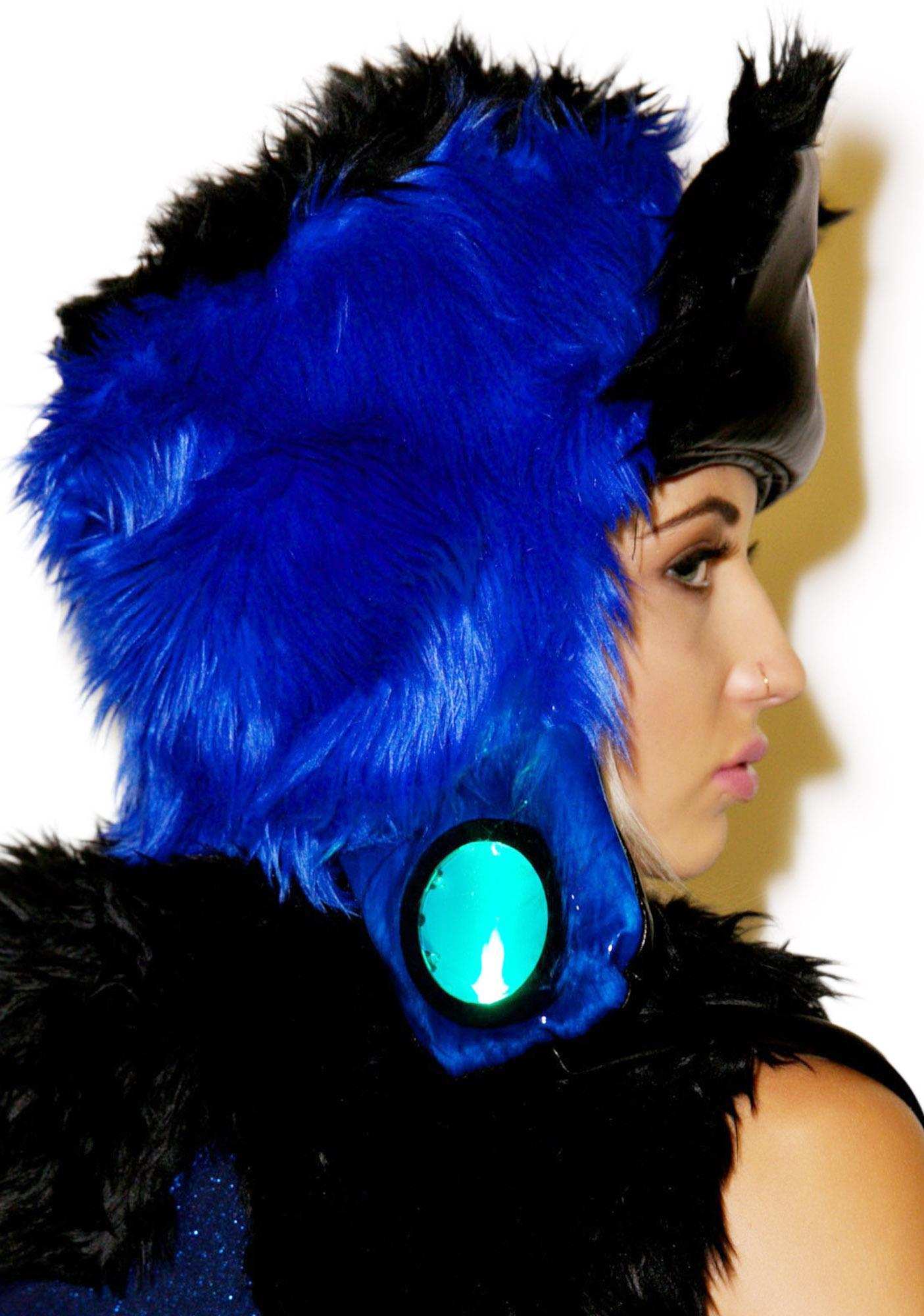 J Valentine Midnight Star Faux Fur Hat