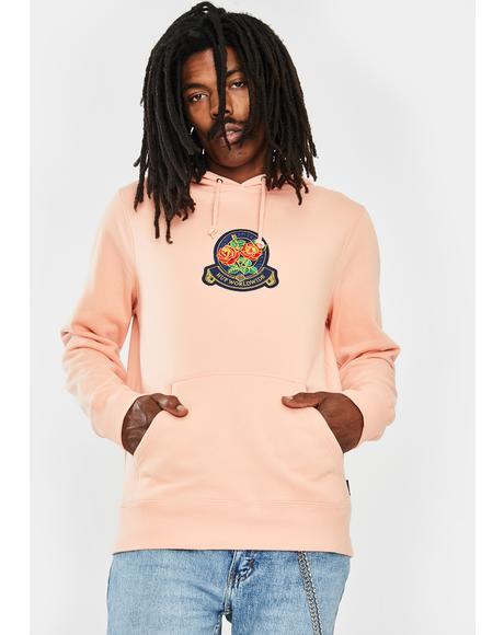 Tenderloin Rose Crest Graphic Hoodie