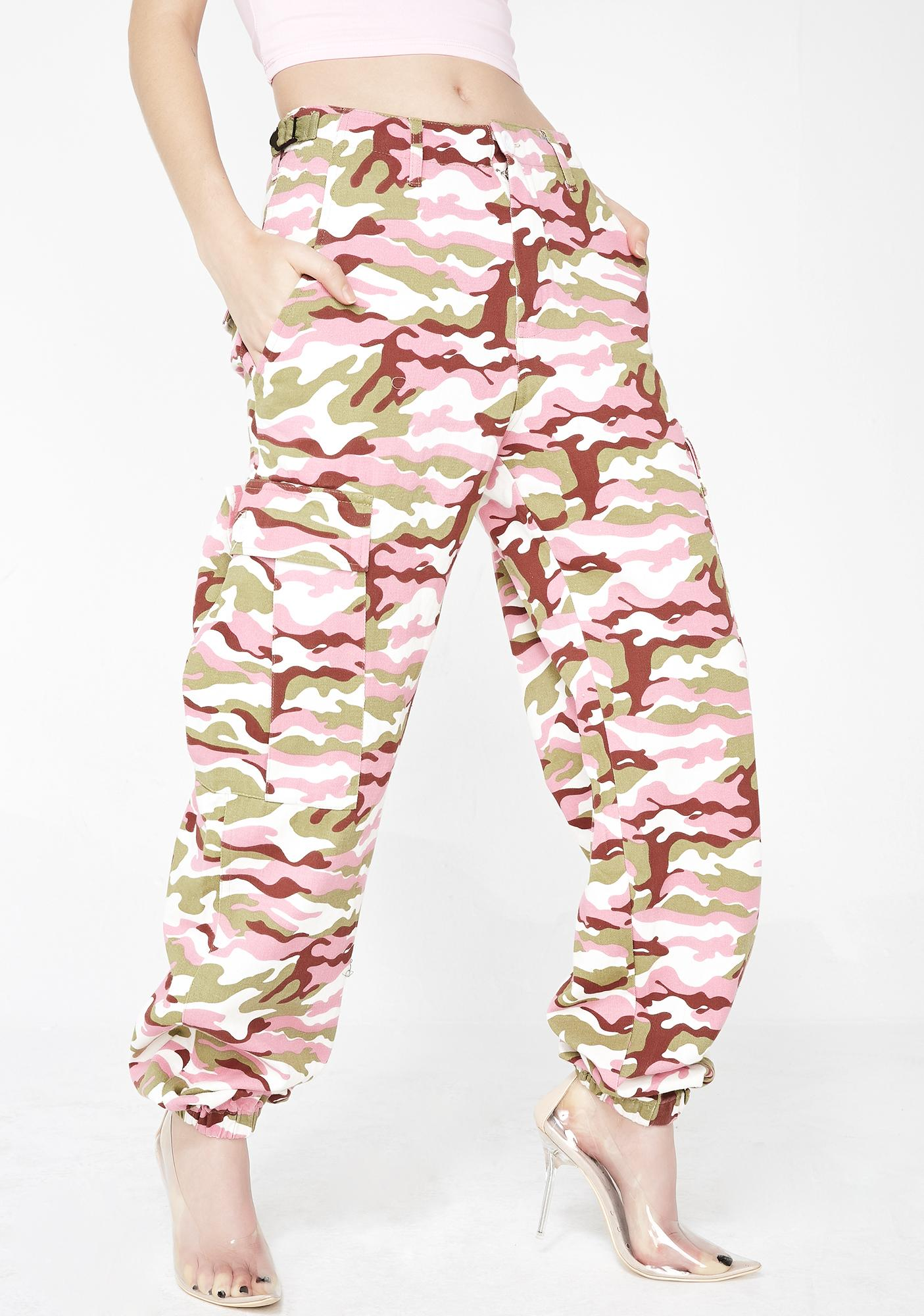 Candy Operation Slay Cargo Pants