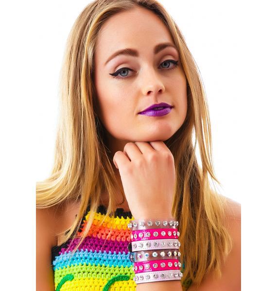 Club Exx Crystal Unicorn Bracelet