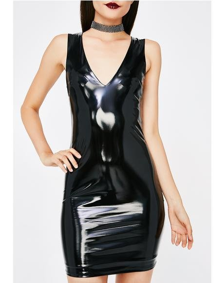 Freak Week Vinyl Dress