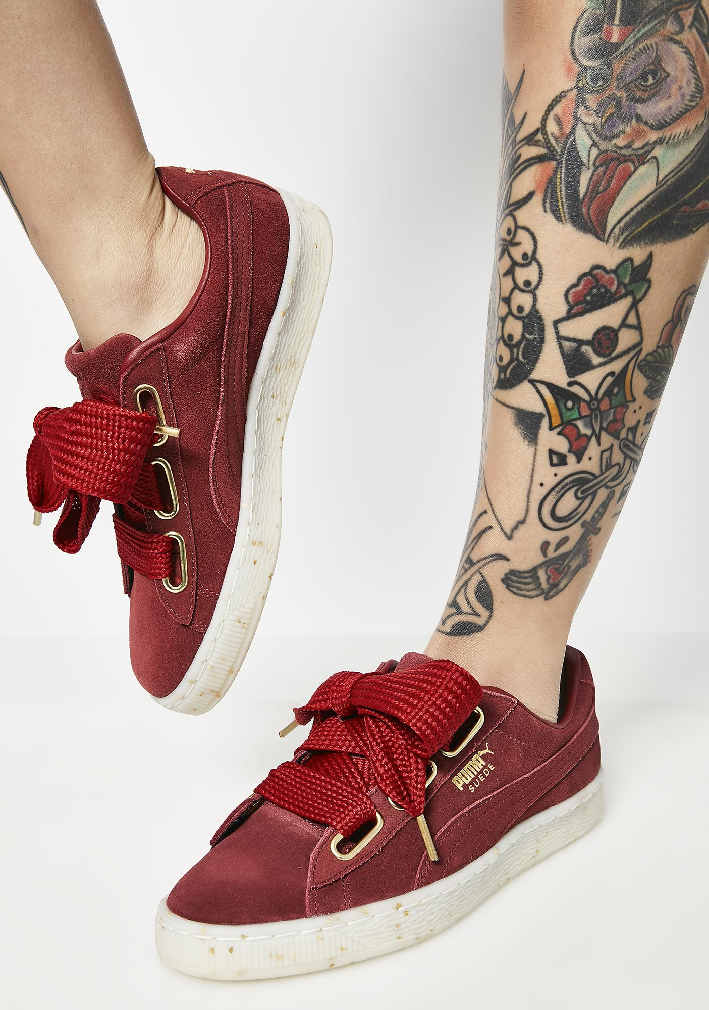 PUMA Suede Heart Fab Sneakers