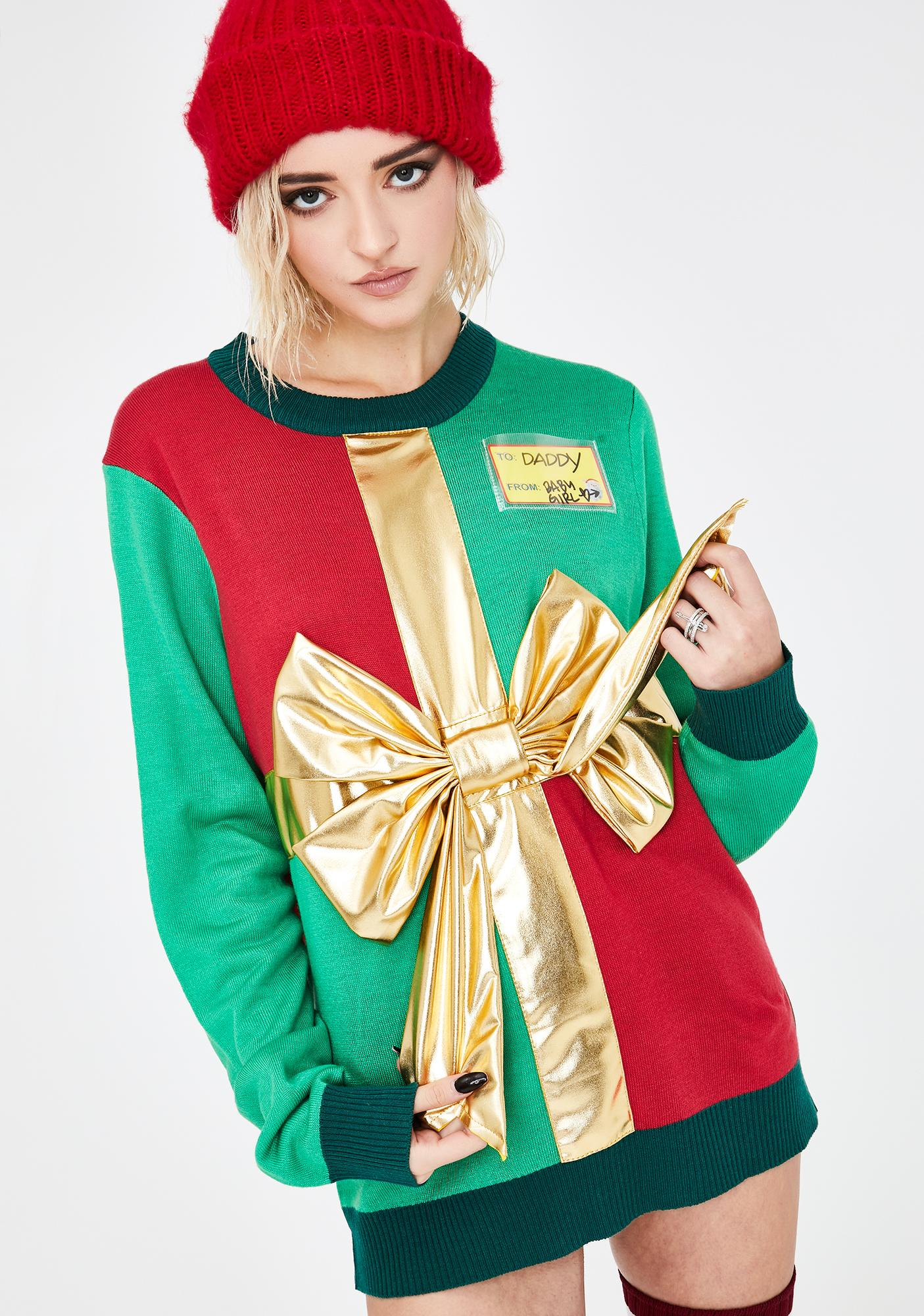 Tipsy Elves Present Sweater