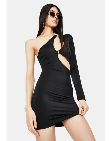 Loves The Spotlight Cut-Out Mini Dress