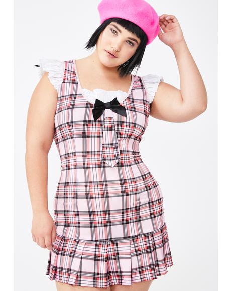 Miss Darling School Girl Costume Set