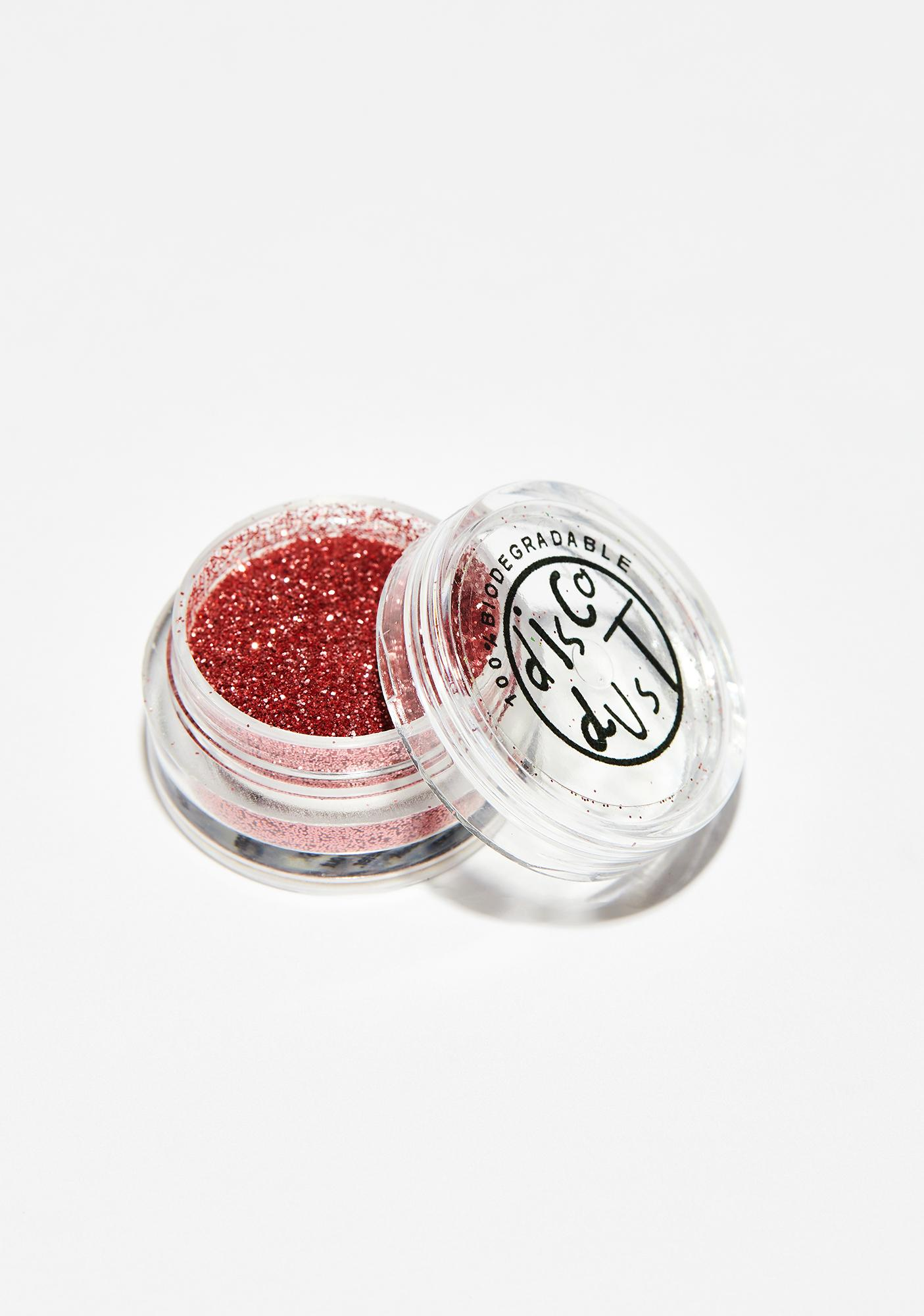 Disco Dust London Rose Pink Fine Biodegradable Glitter
