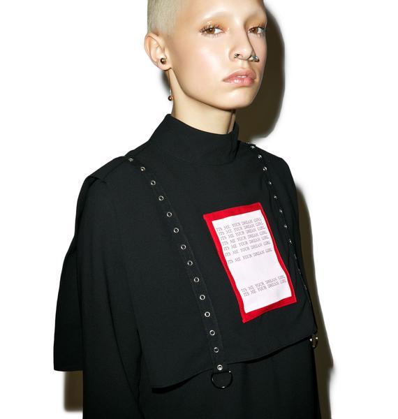 M.Y.O.B. Dream Girl Eyelet Tape Shirt