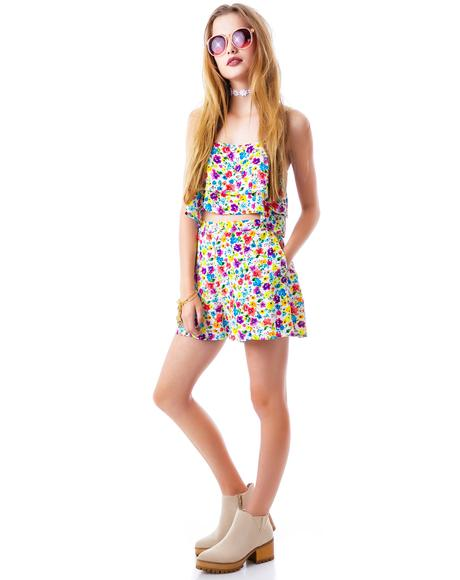 Wild Flower Patch Shorts