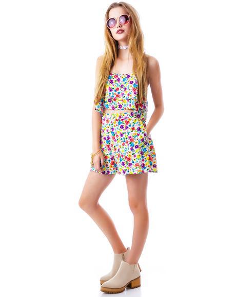 Wild Flower Patch Shorts