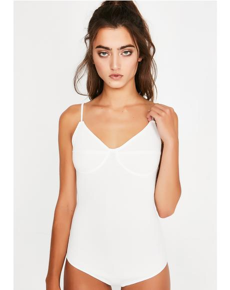 Chill Not Ur Side Chick Ribbed Bodysuit