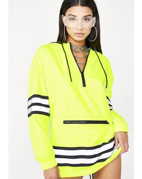 Bodak Proceed With Caution Reflective Parka