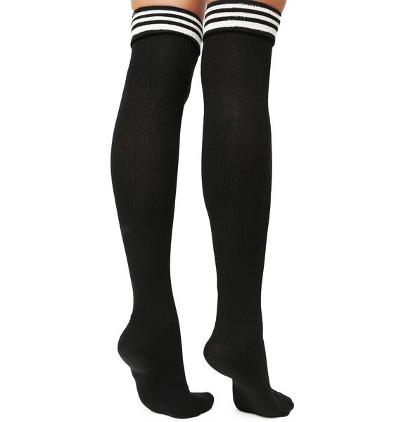 Always Winning Thigh High Socks