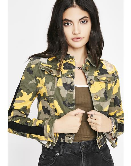 Rage Machine Camo Jacket