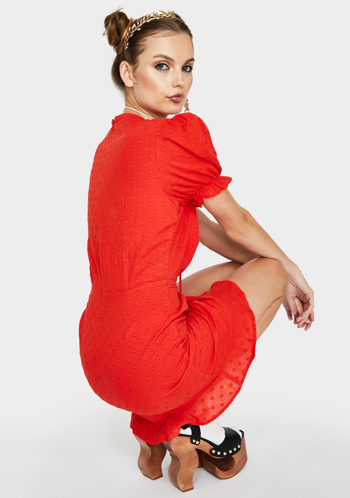 Runaway the Label  Ditsy Mini Dress