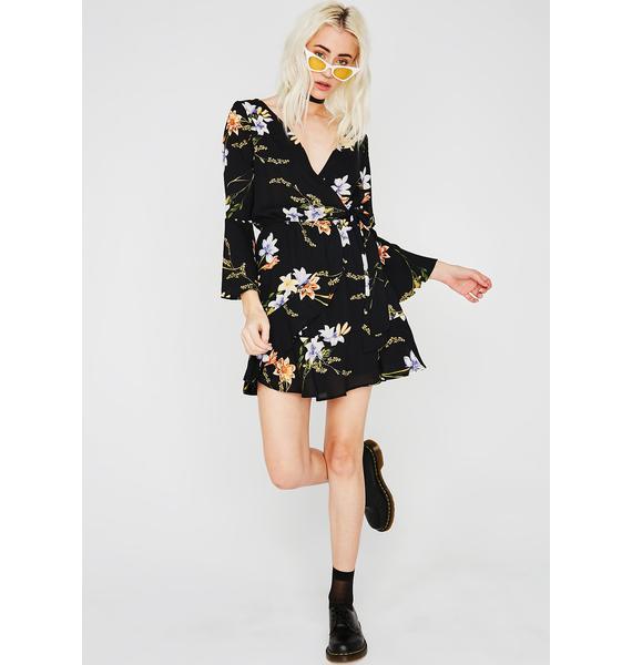 Fallin' Flowers Dress