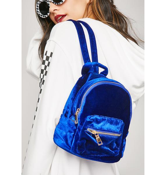 Soft Centered Mini Backpack