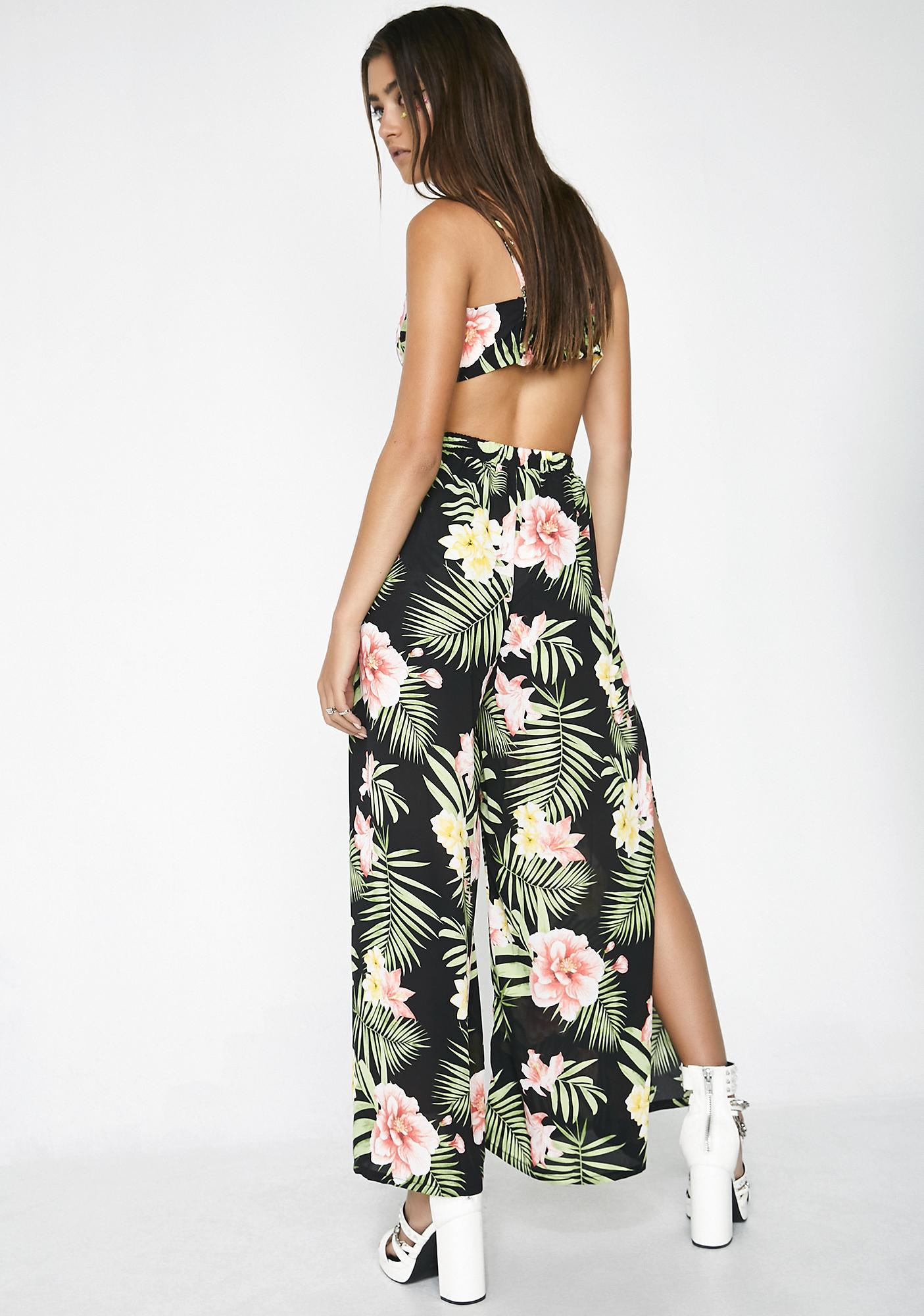 Tropic Breeze Wide Leg Pants
