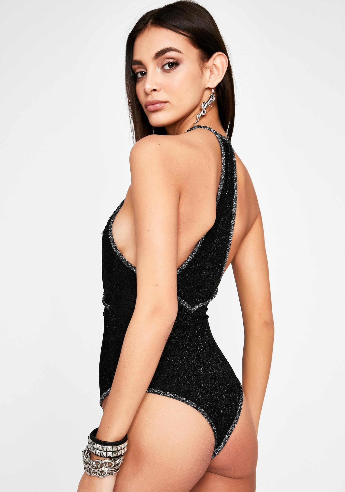 Baby Don't Cry Cut Out Bodysuit