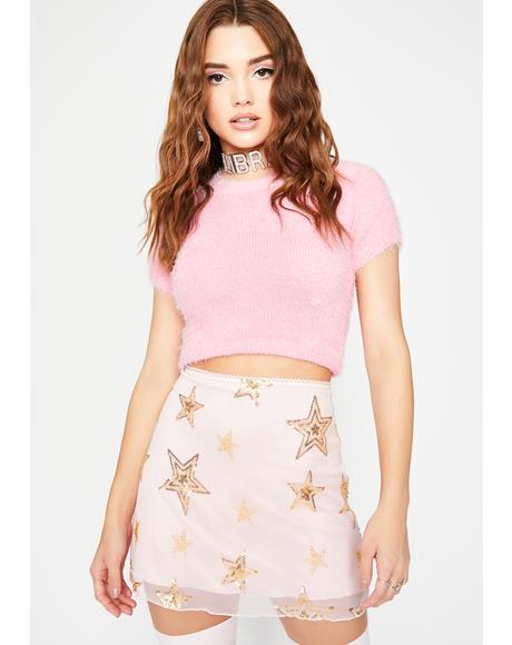 Blame The Stars Mesh Skirt