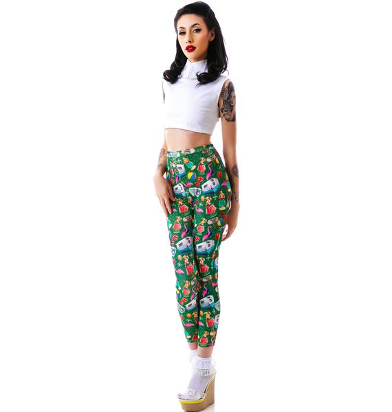Sourpuss Clothing Trailer Park Legging