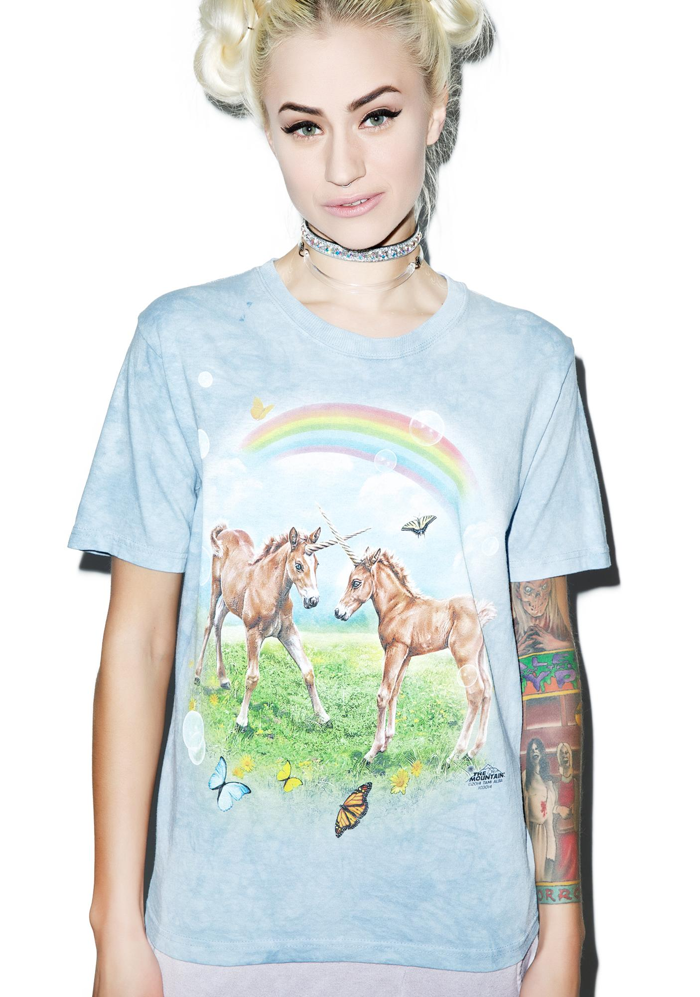 Dueling Unicorn Twins Tee