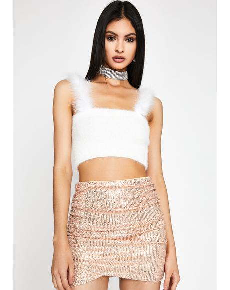 Lavishly Luxe Sequin Skirt