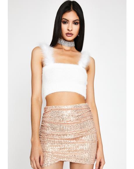 Lavishly Luxe Sequin Skirt