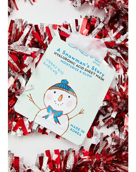 A Snowman's Story Hyaluronic Acid Sheet Mask