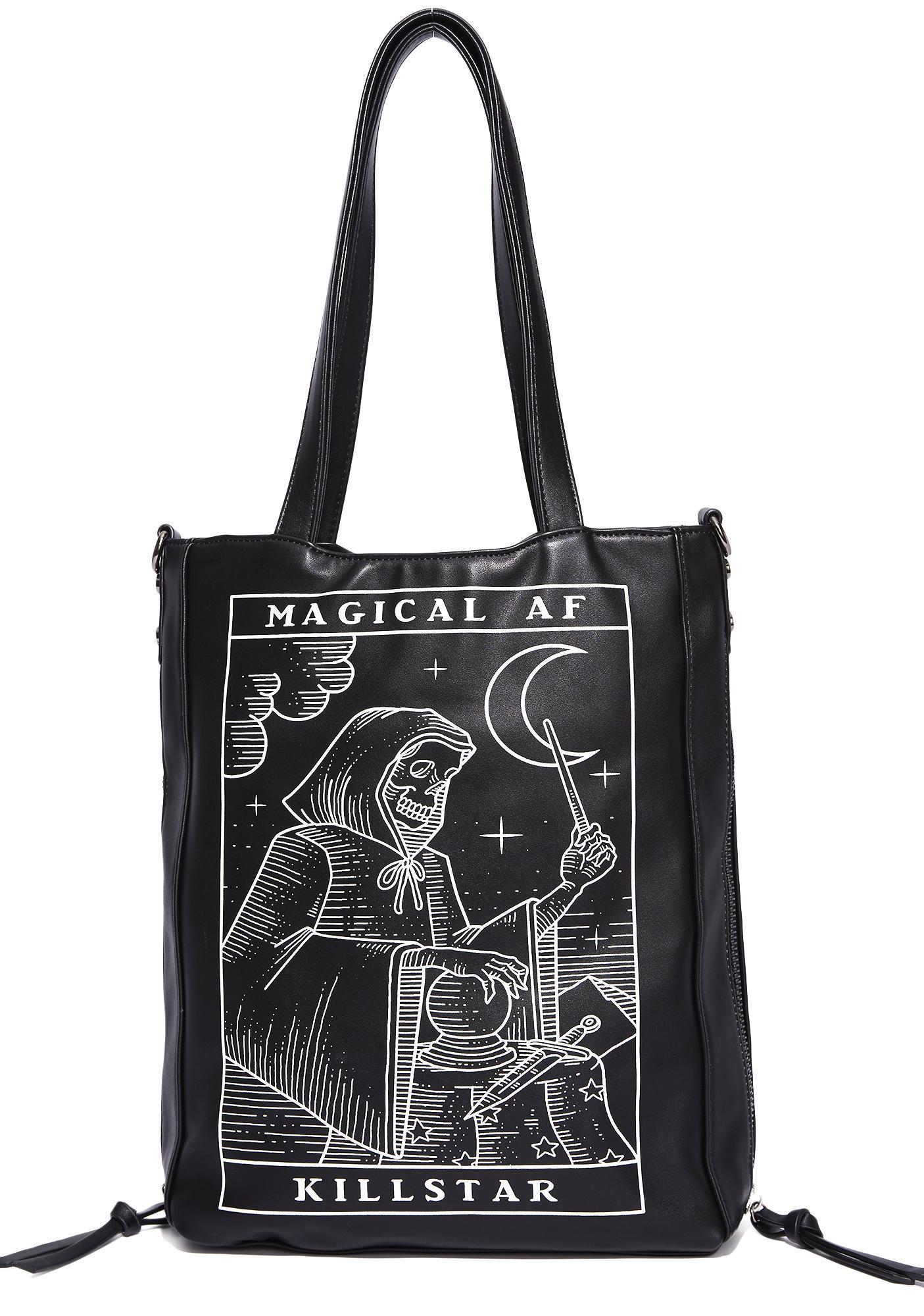 Killstar Magical AF Shopper Tote