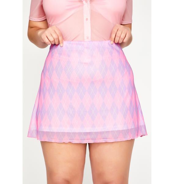 Sugar Thrillz Duh Posse Protocol Mini Skirt