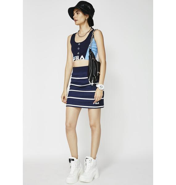 Fila Liri Striped Skirt