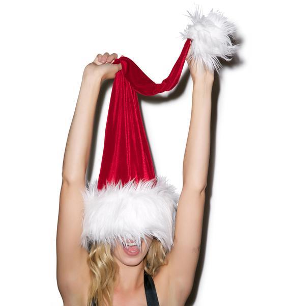 J Valentine Holidaze Deluxe Santa Hat