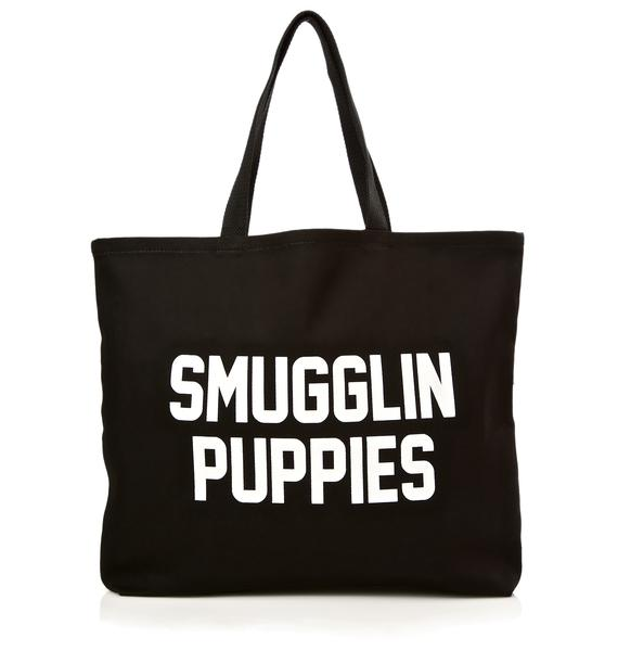 Smugglin' Puppies Tote