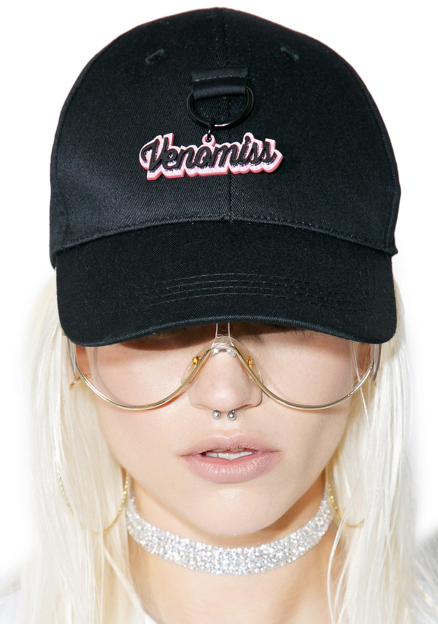 90937557afc Venomiss NYC Glitter Charm Baseball Hat