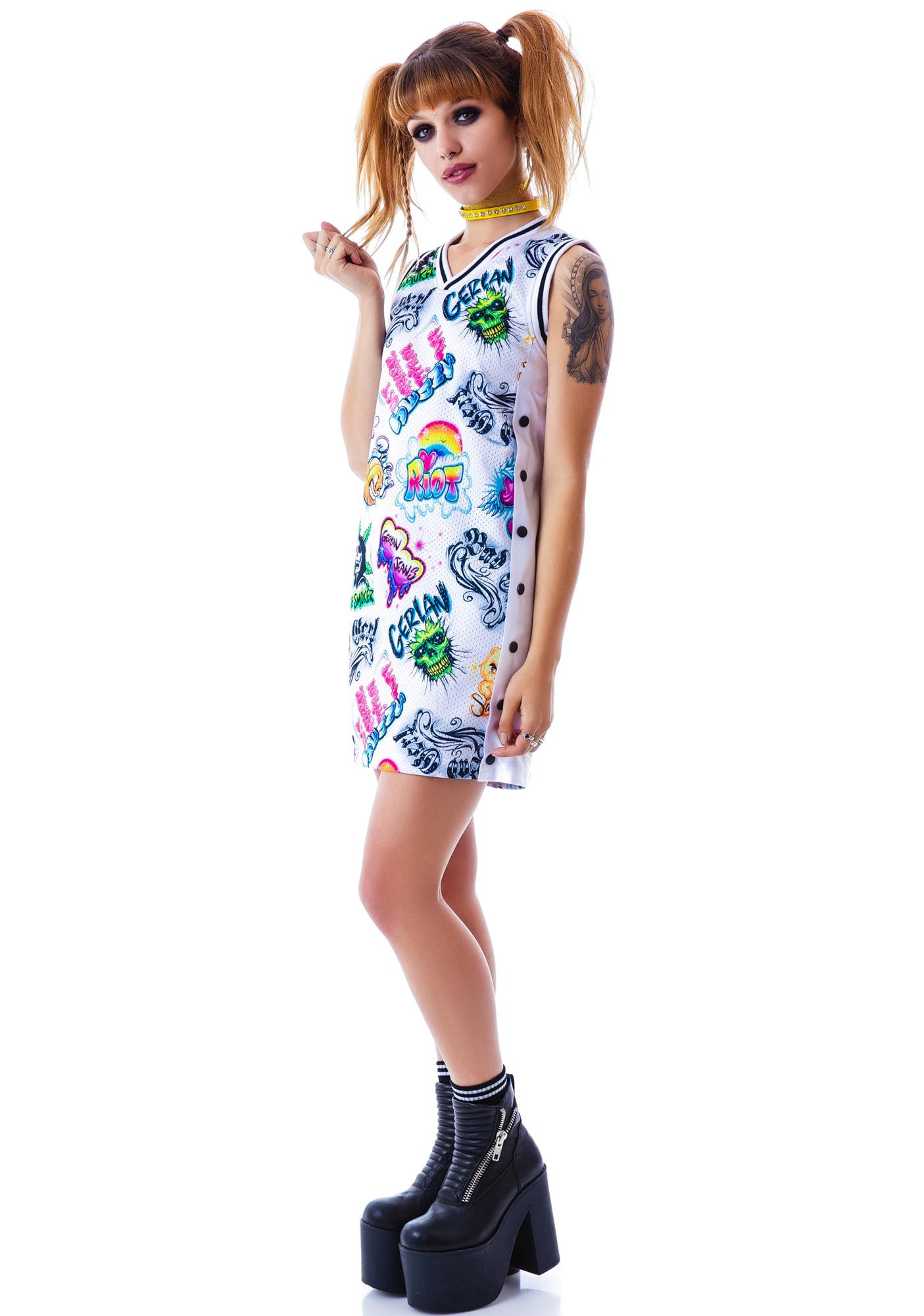 Gerlan Jeans Gerl Unit B-Ball Dress