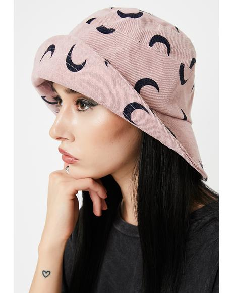 Lowkey Luna-tic Bucket Hat