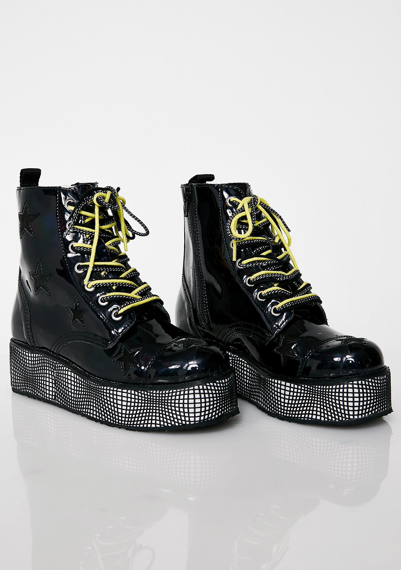 T.U.K. Warped World Platform Boots