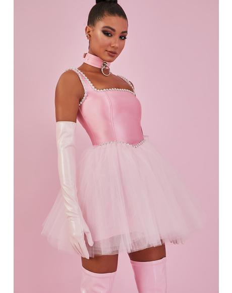 Pretty Polished Pirouette Corset Dress