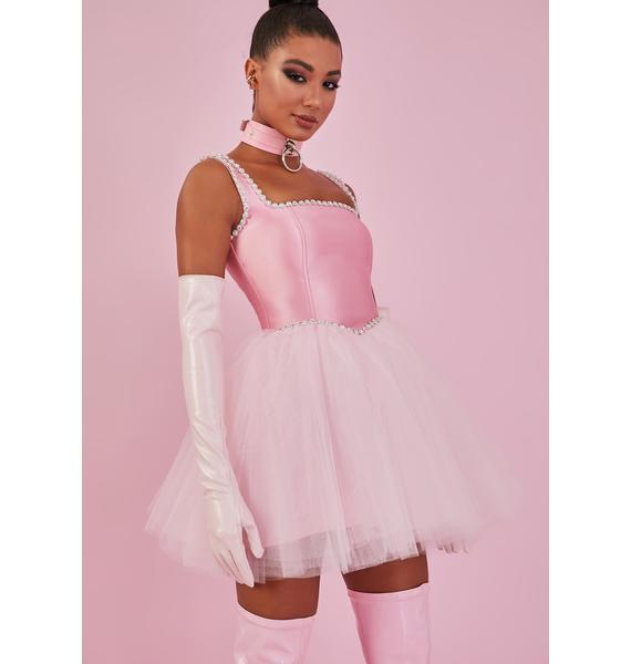 Sugar Thrillz Pretty Polished Pirouette Corset Dress