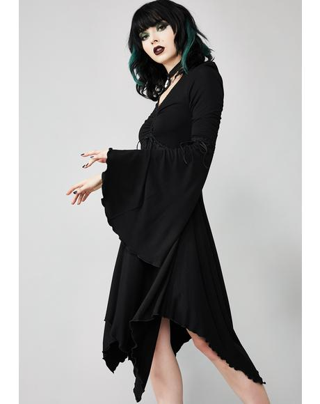 Hex In Harmony Cinched Dress
