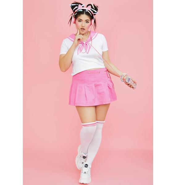 Sugar Thrillz Miss Sassy Sailor Baby Tee