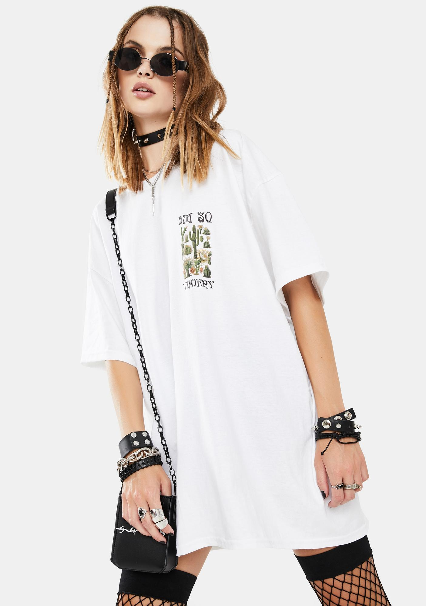 NEW GIRL ORDER Thorny Graphic Tee