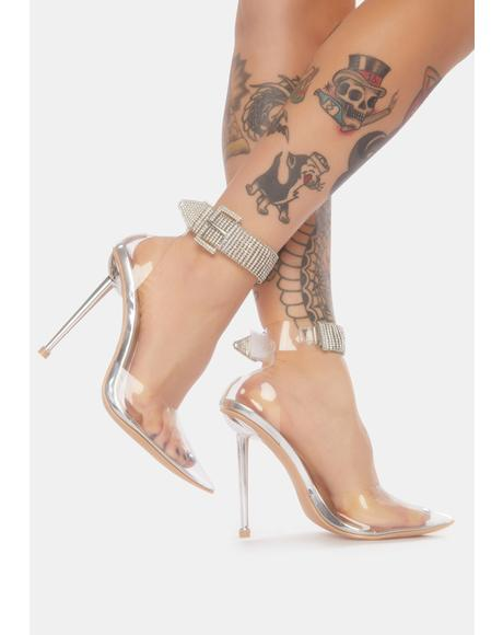 Know Your Worth Stiletto Heels