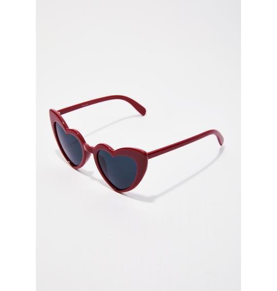 Love Me Heart Sunglasses