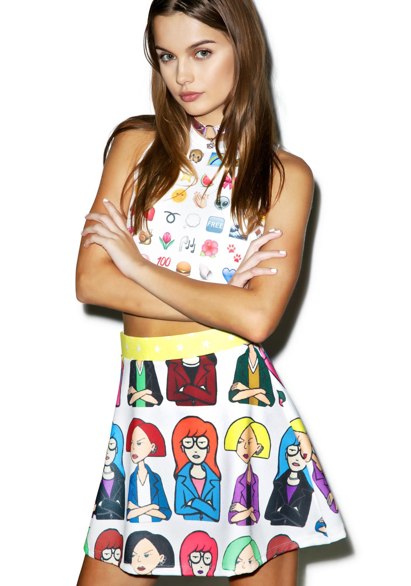 Daria Circle Skirt