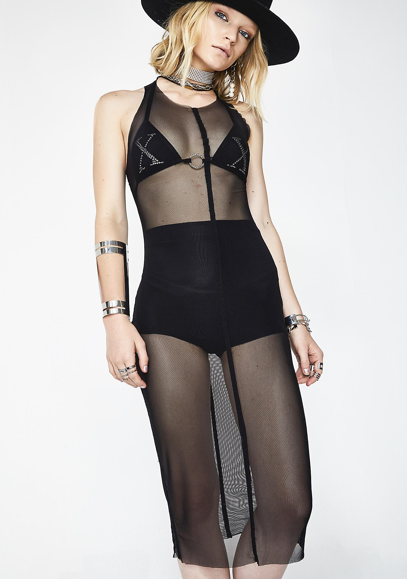Comin' Out Sheer Dress