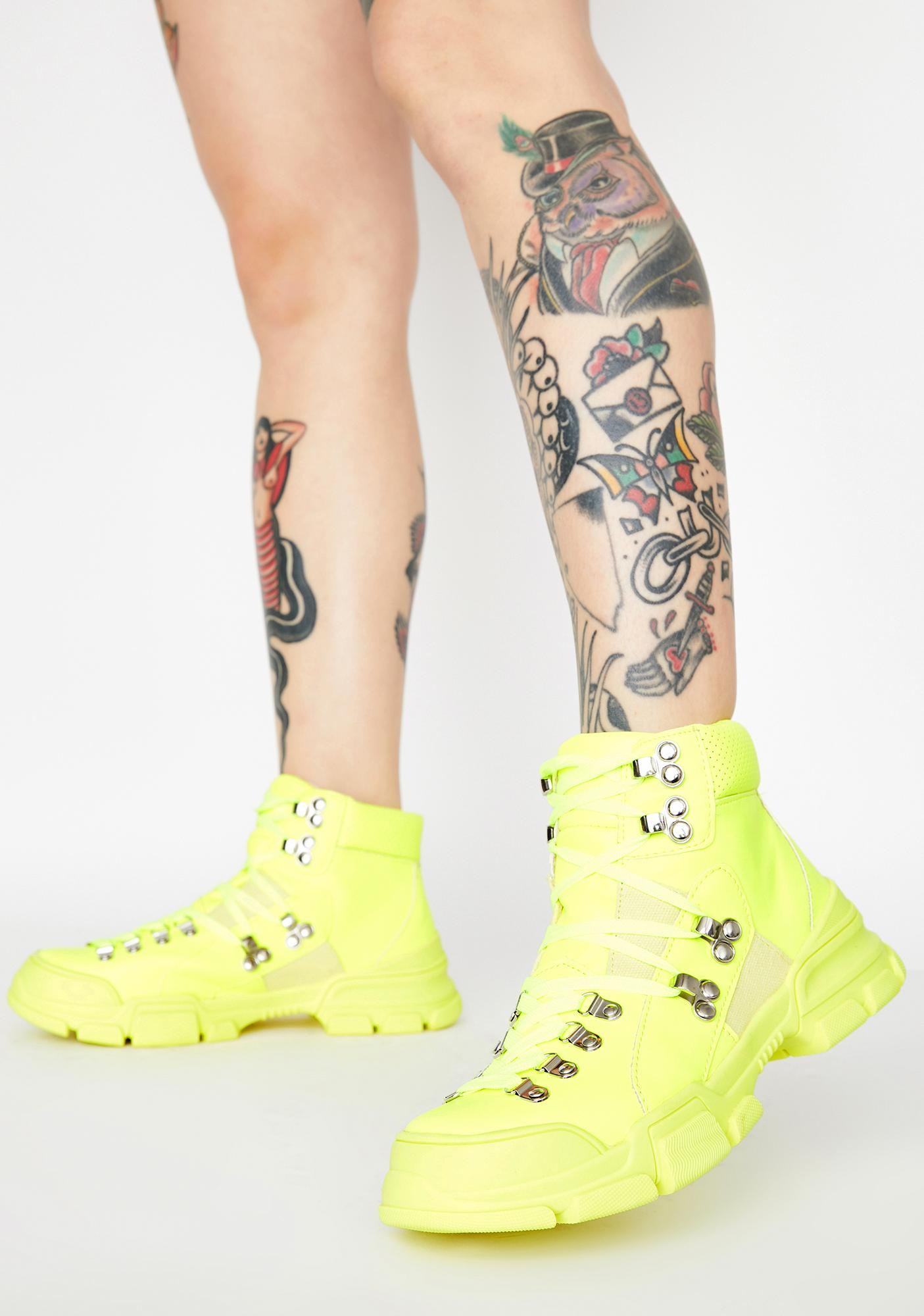 Nuclear Close Combat Lace Up Boots