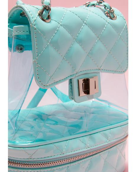 Love The Heiress Life PVC Backpack