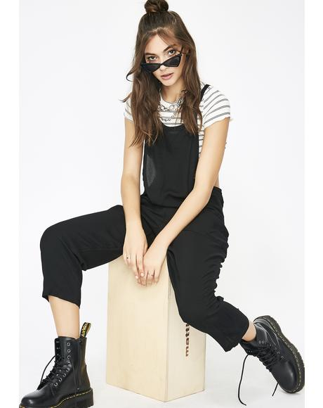 Secret Society Slouchy Overalls